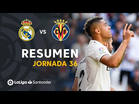 Resumen de Real Madrid vs Villarreal CF (3-2)