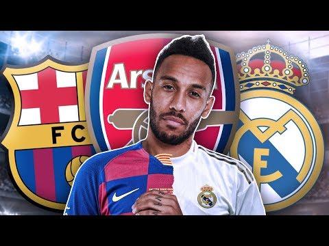 Real Madrid & Barcelona To BATTLE Over Arsenal's Pierre Emerick Aubameyang?! | Transfer Talk