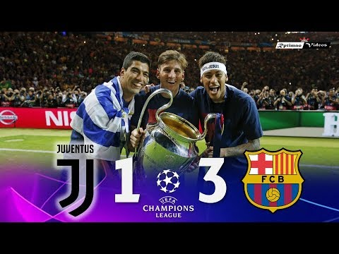 Juventus 1 x 3 Barcelona ● UCL Final 2015 Extended Goals & Highlights HD