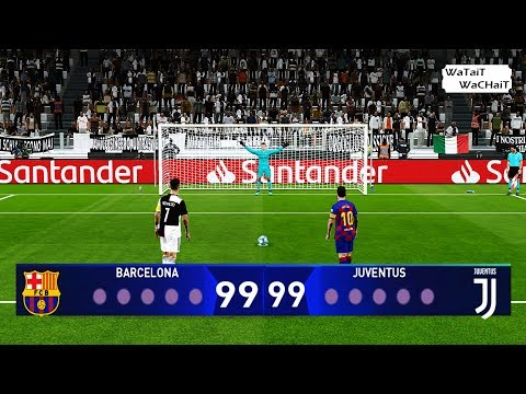 PES 2020 | Longest Penalty Shootout Ever | Barcelona vs Juventus | Final UEFA Champions League