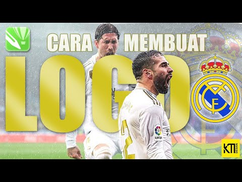 CARA MEMBUAT VECTOR LOGO REAL MADRID || DI COREL DRAW