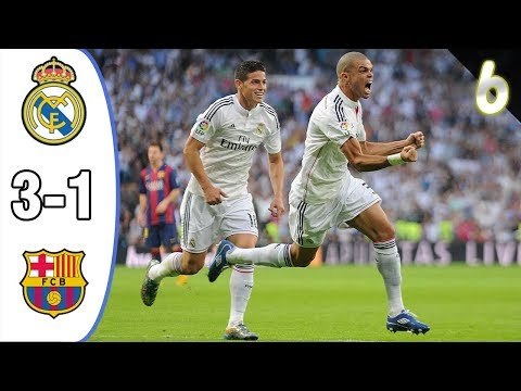 Real Madrid vs Fc Barcelona 3-1 Goals and Highlights (26.10.2014)