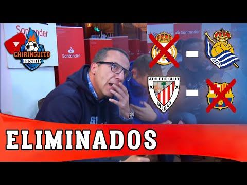 El REAL MADRID y el BARÇA, ELIMINADOS por la REAL SOCIEDAD y ATHLETIC   Copa Del Rey