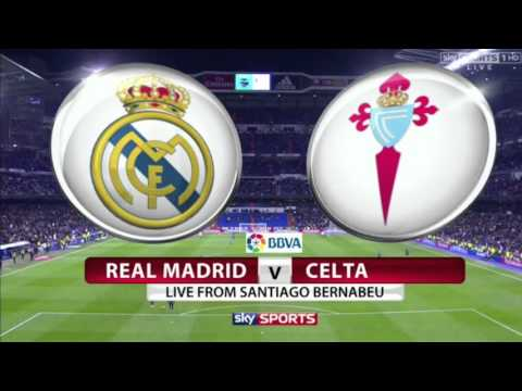 Real Madrid  VS  Celta Vigo LIVE STREAM 04/03/2016 HD