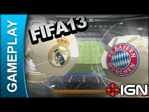 FIFA Soccer 13 – Head to Head: Real Madrid Vs. Bayern Munich – Gameplay