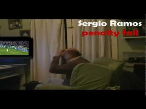 sergio ramos penalty fail (Real Madrid vs bayern munich .mp4