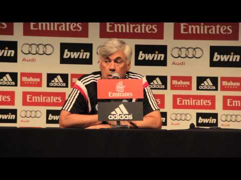 Real Madrid Coach Carlo Ancelotti on playing against Inter and AS Roma