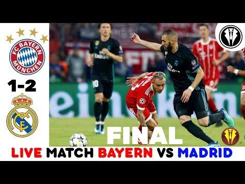 BAYERN MUNICH VS REAL MADRID LIVE STREAM UCL 25/04/2018