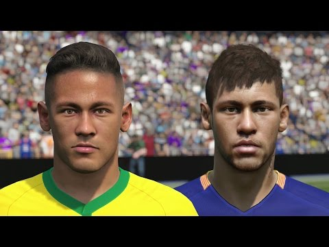 FIFA 16 vs PES 2016 PLAYER FACES