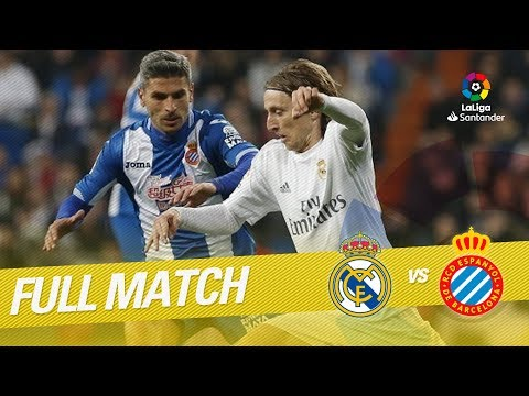 Full Match Real Madrid vs RCD Espanyol LaLiga 2015/2016