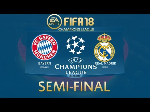 FIFA 18 Bayern Munich vs Real Madrid | Champions League 2017/18 | PS4 Full Match