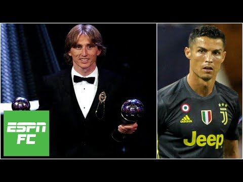 Luka Modric beats Cristiano Ronaldo for FIFA Best Player: Did he deserve it? | ESPN FC