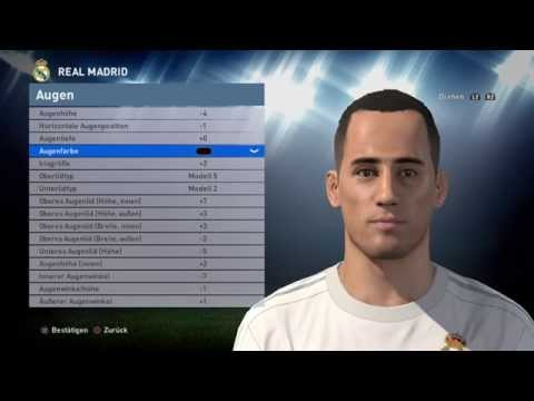 PES 2016 Face Build Lucas Vasquez (Real Madrid)