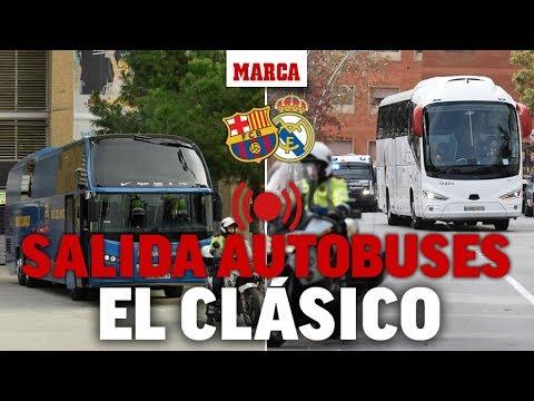 El Clásico FC Barcelona – Real Madrid: movilizaciones de Tsunami Democràtic, en directo I MARCA