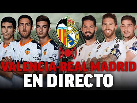 Valencia – Real Madrid, Supercopa de España 2020 I EN DIRECTO – Radio MARCA ÚLTIMA HORA I MARCA
