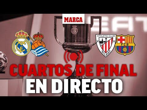 Real Madrid – Real Sociedad y Athletic – Barcelona  | Copa del Rey EN DIRECTO Cuartos de final