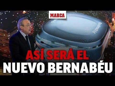 Presentación del nuevo Bernabéu, en directo I MARCA