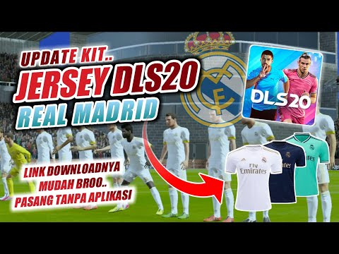 UPDATE.. KIT REAL MADRID Team Dream League Soccer 2020 || Download Nya Mudah Banget, Tanpa Aplikasi