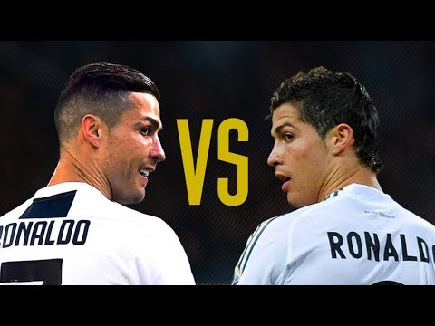 Cristiano Ronaldo Real Madrid VS Cristiano Ronaldo Juventus I HD