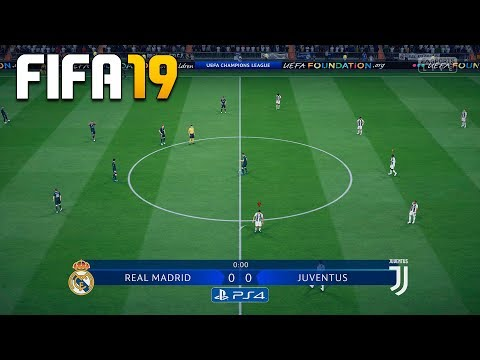 FIFA 19 DEMO CHAMPIONS LEAGUE – REAL MADRID vs JUVENTUS – PS4 GAMEPLAY