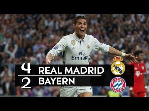 Real Madrid 4 x 2 Bayern de Munique – melhores momentos (GLOBO HD 720p) UEFA Liga dos Campeões 2017