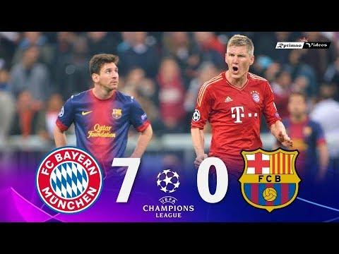 Bayern Munich 7 x 0 Barcelona ● UCL 12/13 Extended Goals & Highlights HD