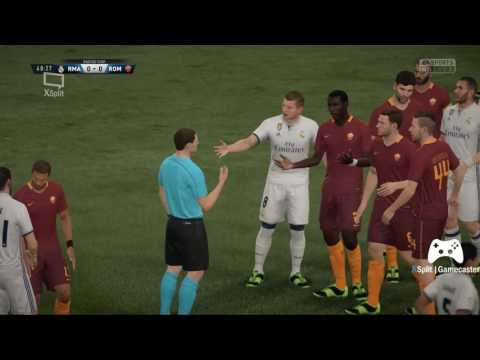 FAFA17 REAL MADRID vs ROMA