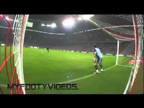 real madrid vs bayern munich 4-2 penalties(penalty shootout ) full clip (13.08.10)