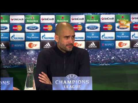 PEP GUARDIOLA – BAYERN 0-4 REAL MADRID