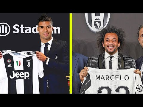 Top 30 Confirmed & Rumours Winter Transfers ft Casemiro,Marcelo