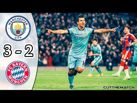 Manchester City vs Bayern Munich 3-2 | All Goals & Highlights | UCL 2014/15
