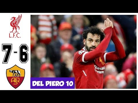 Liverpool vs AS Roma 7-6, Semifinal UCL 2018 – All Goals and Highlights