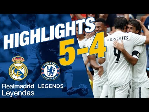 CORAZÓN CLASSIC MATCH | Real Madrid Leyendas 5-4 Chelsea Legends