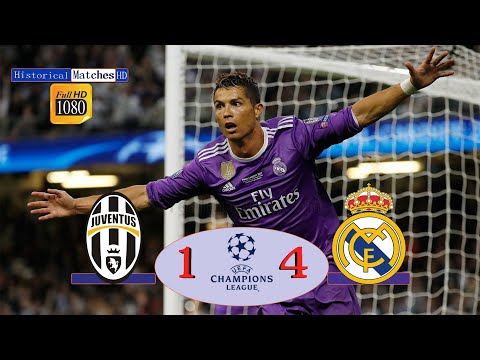 JUVENTUS 1-4 REAL MADRID UCL FINAL 2017 EXTENEDED HIGHLIGHT FULL HD #UCL عصام الشوالى FINAL 2017