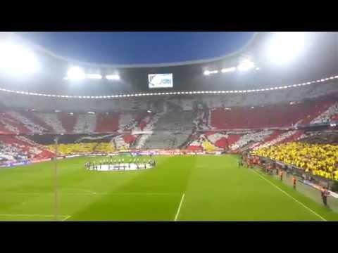 Choreographie Bayern München Real Madrid 29.04.14