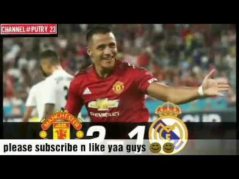 Hasil ICC 2018 – Manchester United Tekuk Real Madrid 2-1