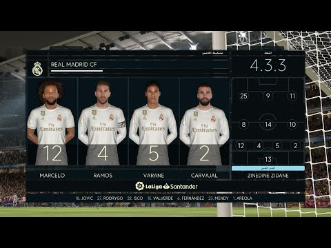FIFA 20 | Real Madrid vs FC Barcelona – El Clásico (Full )2020/03/01 HD