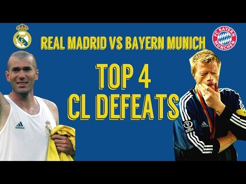 Champions League Worst Defeats | Real Madrid vs Bayern Munich Head to Head | Shocking Results