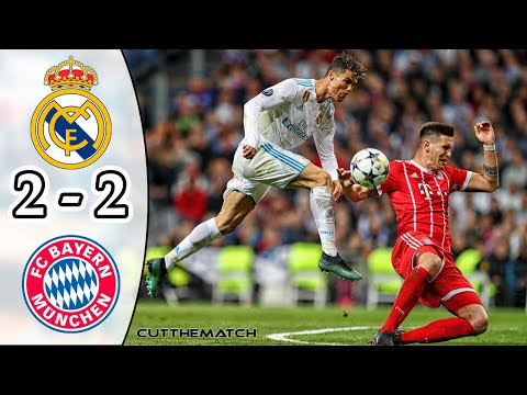 Real Madrid vs Bayern Munich 2-2 | UCL Semi-final 2017/18