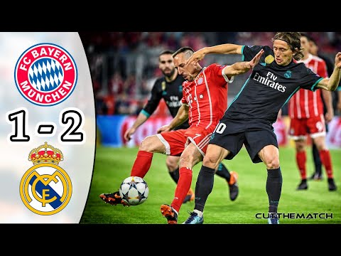 Bayern Munich vs Real Madrid 1-2 | UCL Semi-final 2017/18
