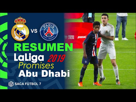 Real Madrid vs París Saint Germain LaLiga Promises Abu Dhabi 2019