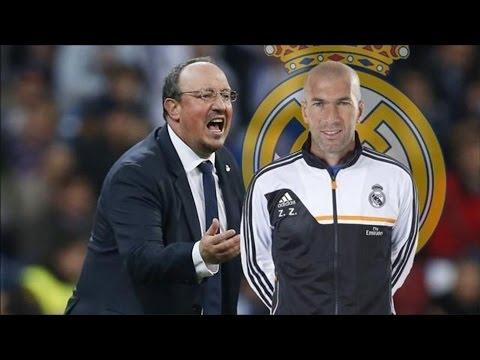 Real Madrid |  Rafa Benitez Hanging On At Real Madrid; Zinedine Zidane Next ?