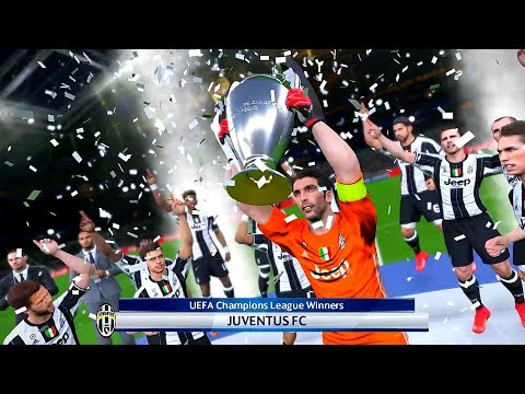 PES 2017 JUVENTUS F.C. VS. REAL MADRID C.F. UEFA CHAMPIONS LEAGUE FINAL MATCH HIGHLIGHTS PREDICTION