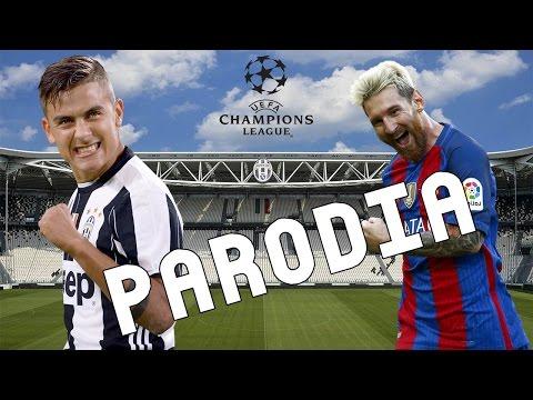 Cancion Juventus vs Barcelona 3-0 (Parodia Si Tu Novio Te Deja Sola – J Balvin ft Bad Bunny)