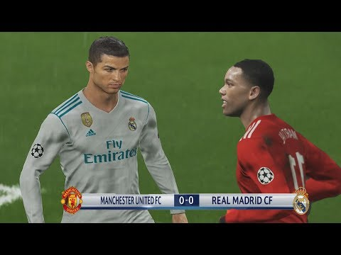 CHAMPIONS – REAL MADRID VS MANCHESTER UNITED QUIEN TIENE EL MEJOR ATAQUE