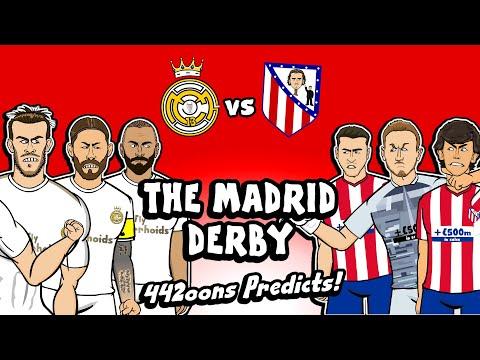 Real Madrid vs Atleti – Prediction! (Derby 2020 442oons Highlights Goals)