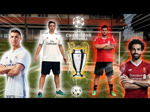 REAL MADRID vs LIVERPOOL – FINAL CHAMPIONS LEAGUE 2018
