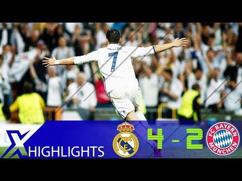 Real Madrid vs Bayern Munich 4-2 – UCL 16/17 Quarter Final Highlight & All Goals – UHD 4K