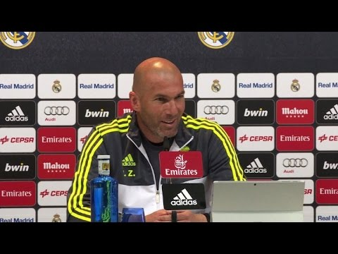 Real Madrid's Zidane ready to coach his first 'Clasico'