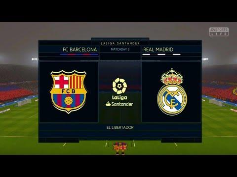 El Clasico: FC Barcelona VS Real Madrid 2018/2019 HIGHTLIGHTS